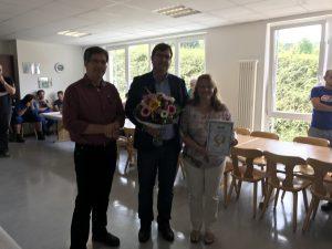 Mitarbeiter feiern 25jähriges Jubiläum bei der INKA System GmbH