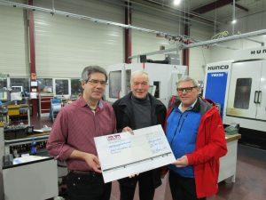 Quelle: INKA System GmbH, von links nach rechts: Herr Eberhardt, Herr Friedrich Dorsch, Herr Otto Audenrieth